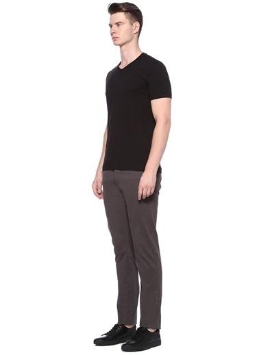 Beymen Collection V Yaka Tişört Siyah